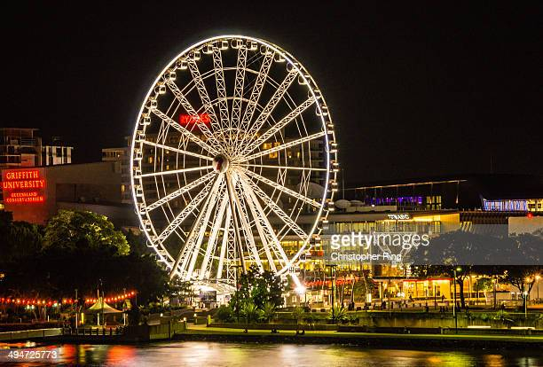 CONTENT] Wheel of Brisbane is a 60 metre tall Ferris wheel located on the banks of the Brisbane River opposite the CBD Long exposure night shot...