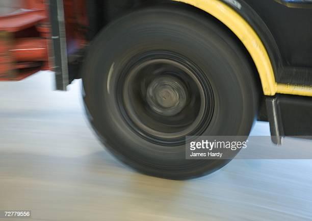 Wheel of forklift