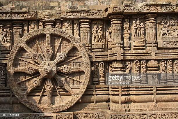 Wheel of Konark Sun Temple