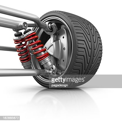 wheel with suspension