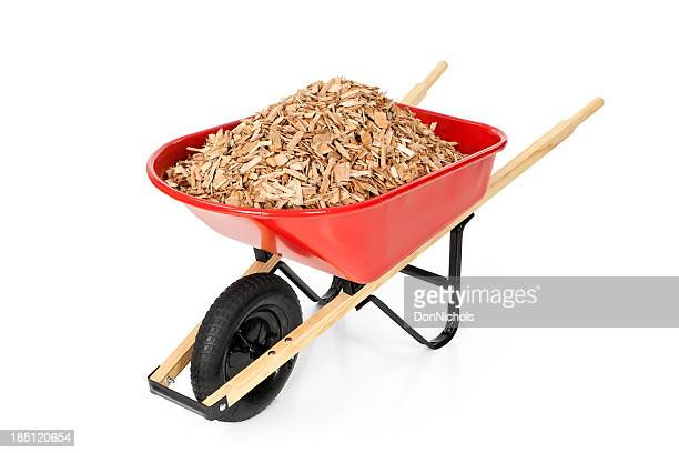 Wheelbarrow Full of Mulch