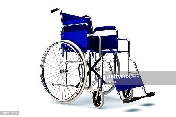 WheelChair on White Background, with Copyspace (XXXL)
