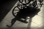 wheelchair shadow