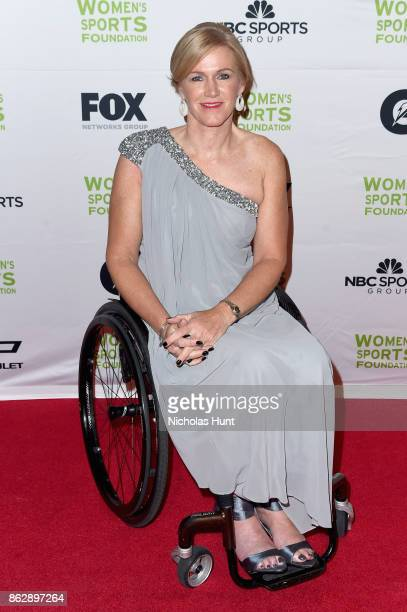 Wheelchair Tennis player Monique Kalkman attends the The Women's Sports Foundation's 38th Annual Salute To Women in Sports Awards Gala on October 18...