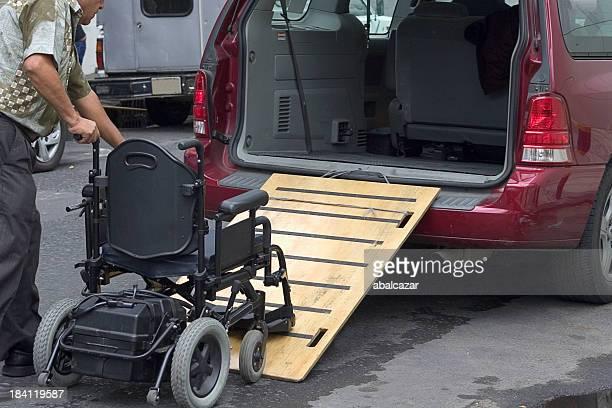 transport en fauteuil roulant