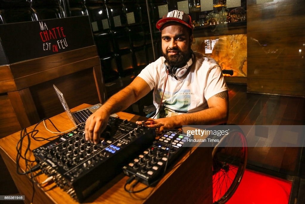 Profile Shoot Of Wheelchair-Bound DJ Varun Khullar