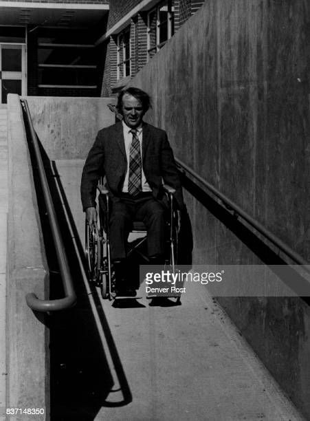 Wheeling Around School is Easy Right Wrong Henry Cotton Cherry Creek high school principal was one of several faculty members who tried out wheel...