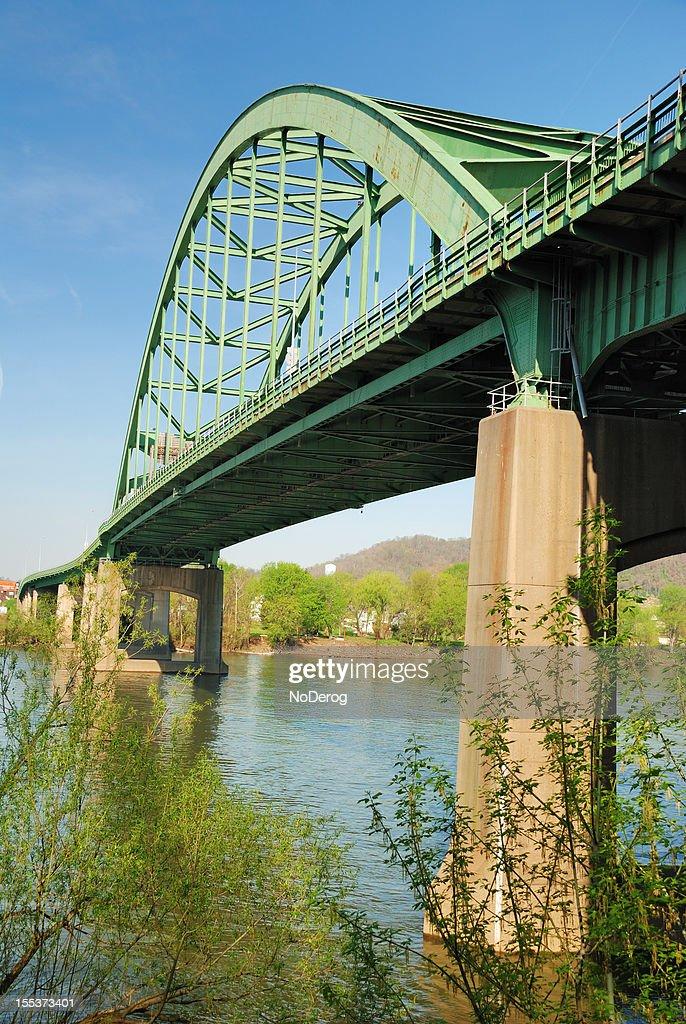 Wheeling bridge over Ohio River
