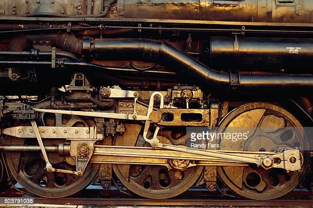 Wheels of Locomotive