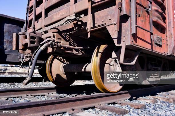 Wheels on a Freight Car