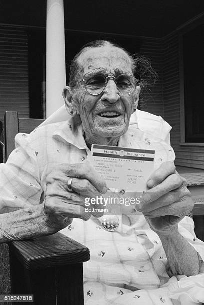 When Frances Perry applied for Medicare there was no difficulty about proving her eligibility on the basis of age Frances is 100 years old 35 years...