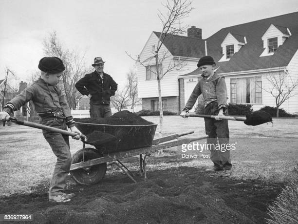 When It's Springtime in the Rockies This was a commonplace scene in the Denver area Saturday as the balmy spring day provided good opportunity to dig...