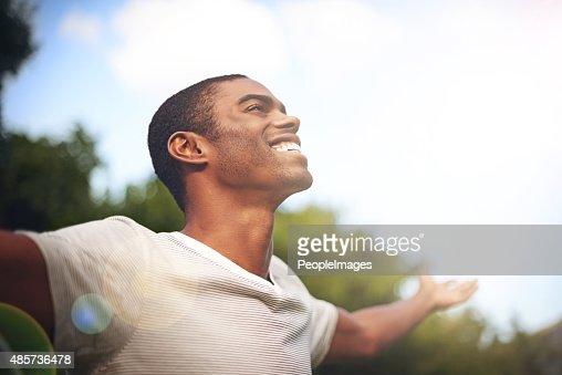 Wenn das Leben Lächeln dich an, Lächeln zurück