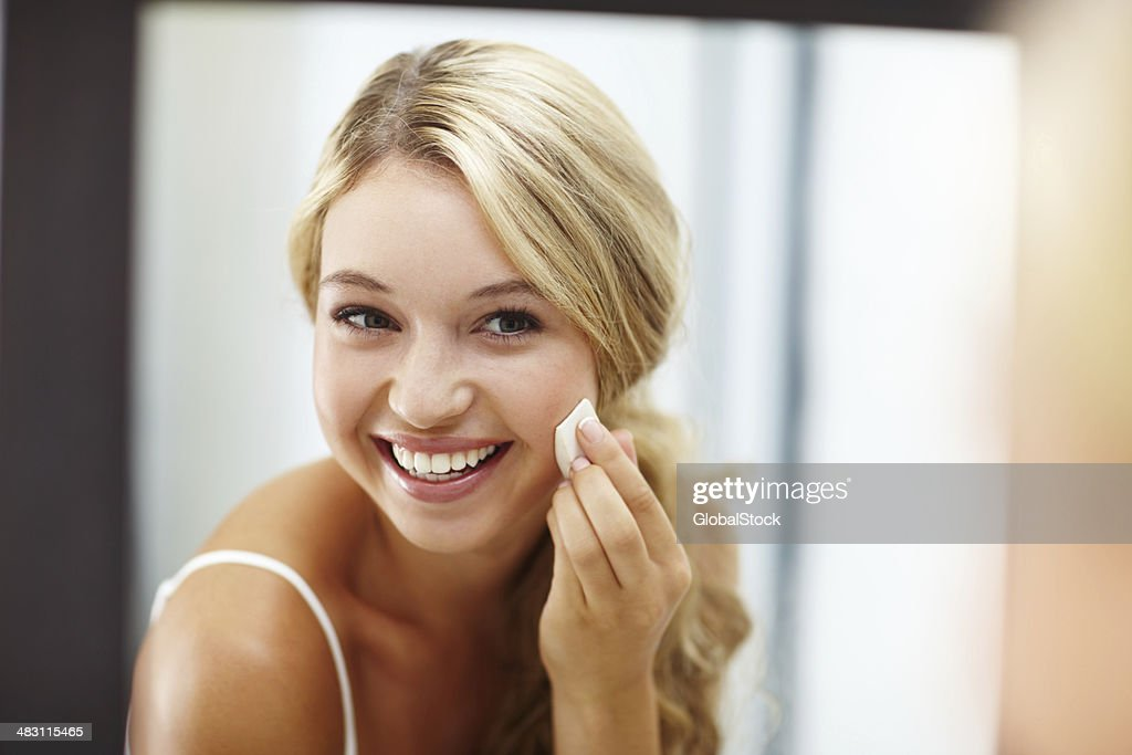 When my skin looks great I feel amazing