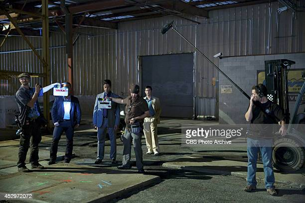 'When Smoke Clears' Behind the scenes on the set of the CBS drama RECKLESS scheduled to air on the CBS Television Network Pictured LR Shawn Hatosy as...