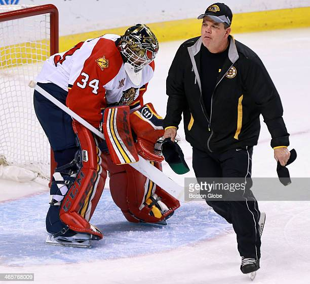 Tim Thomas Ice Hockey Player Stock Photos And Pictures