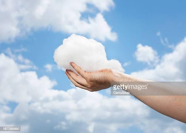 Quand les nuages se tenir dans vos mains.