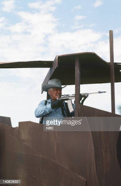 TEAM 'When You Comin' Back Range Rider Part 1 2' Episode 5 6 Pictured George Peppard as John 'Hannibal' Smith Photo by Frank Carroll/NBCU Photo Bank