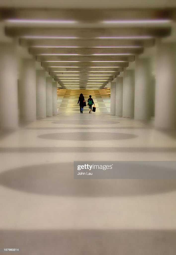 Where Are The Crowds? : Stock Photo