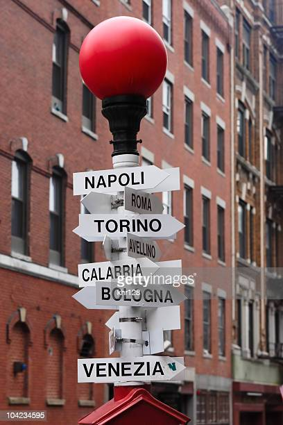 Wo in Italien?