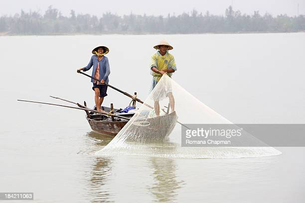 CONTENT] where there is a river in vietnam there is life on it this couple earn their money by fishing and spend most of the daytime on the river for...
