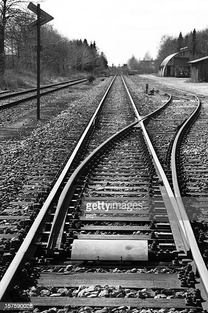 Which direction to take - railroad junction