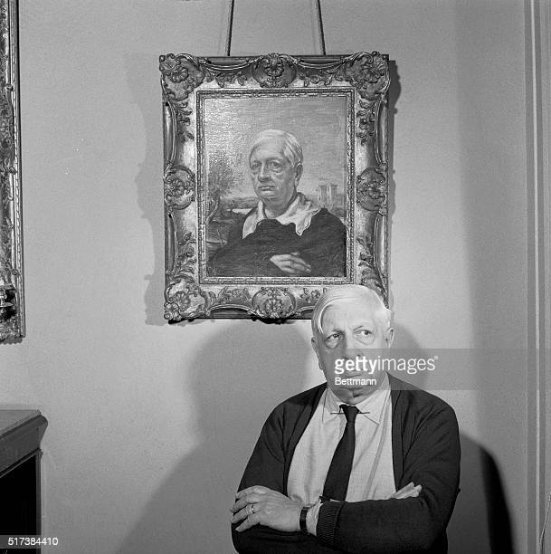 While a framed selfportrait hangs on the wall Giorgio De Chirico strikes a similar pose in front of itChirico famous for his ego is perhaps the only...