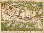 While sometimes referred to as the Second Battle of Fredericksburg this action was actually part of the larger Battle of Chancellorsville Hand Drawn...