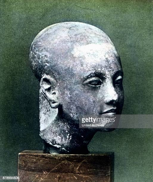 While wandering we recognize that not all works of art are originals We find a very glorious fine head of a princess from the time around 1360 Has...