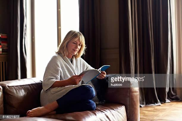 Bei der sich am Nachmittag mit einem guten Buch