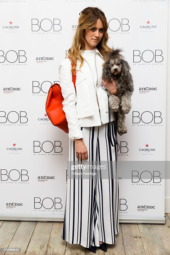 Whinnie Williams attends the launch of Dawn O'Porter's BOB pop up boutique at Seven Dials with Caorunn Gin and anCnoc vinatage Whisky Vidal Sassoon...