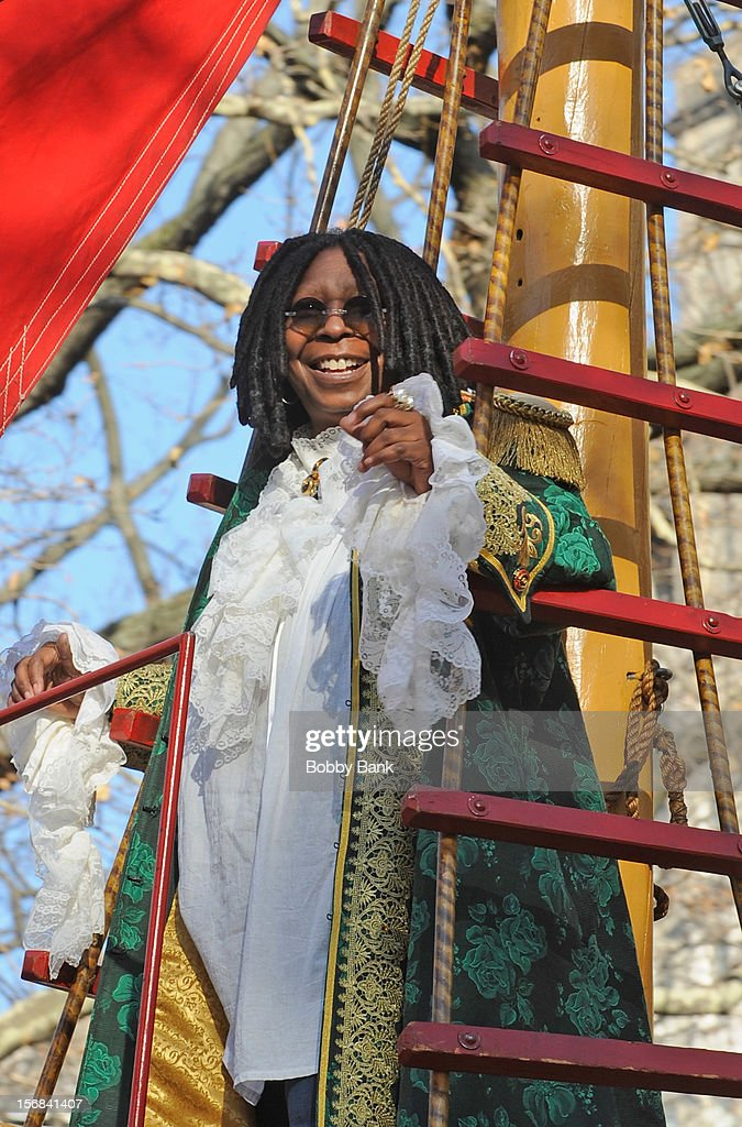 Whioppi Goldberg attends the 86th Annual Macy's Thanksgiving Day Parade on November 22, 2012 in New York City.