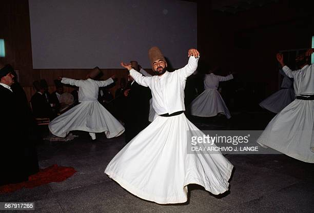 Whirling dervishes Konya Turkey
