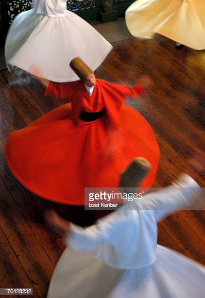 Whirling Dervishes performThe Sema Ritual