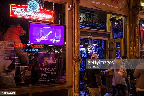 Whiskey Bent Saloon in Nashville, Tennessee