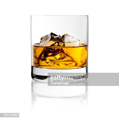 Whisky On The Rocks - Drink with Ice