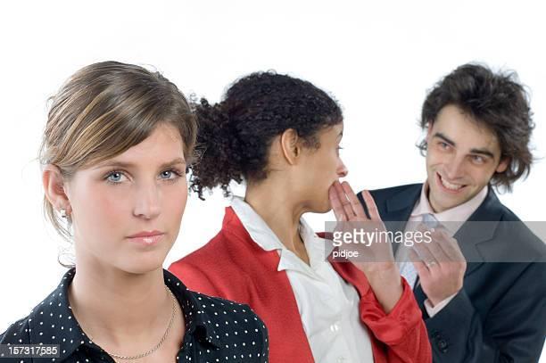 whispering business team
