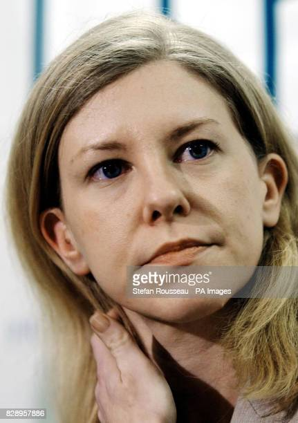 GCHQ whistleblower Katharine Gun today during a press conference held in London after she was cleared at the Old Bailey following a charge under the...