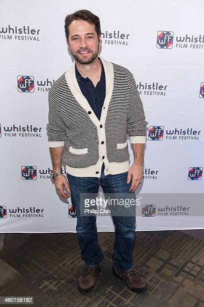 Whistler Film Festival Ambassador Jason Priestley attends the Whistler Film Festival on December 7 2014 in Whistler Canada