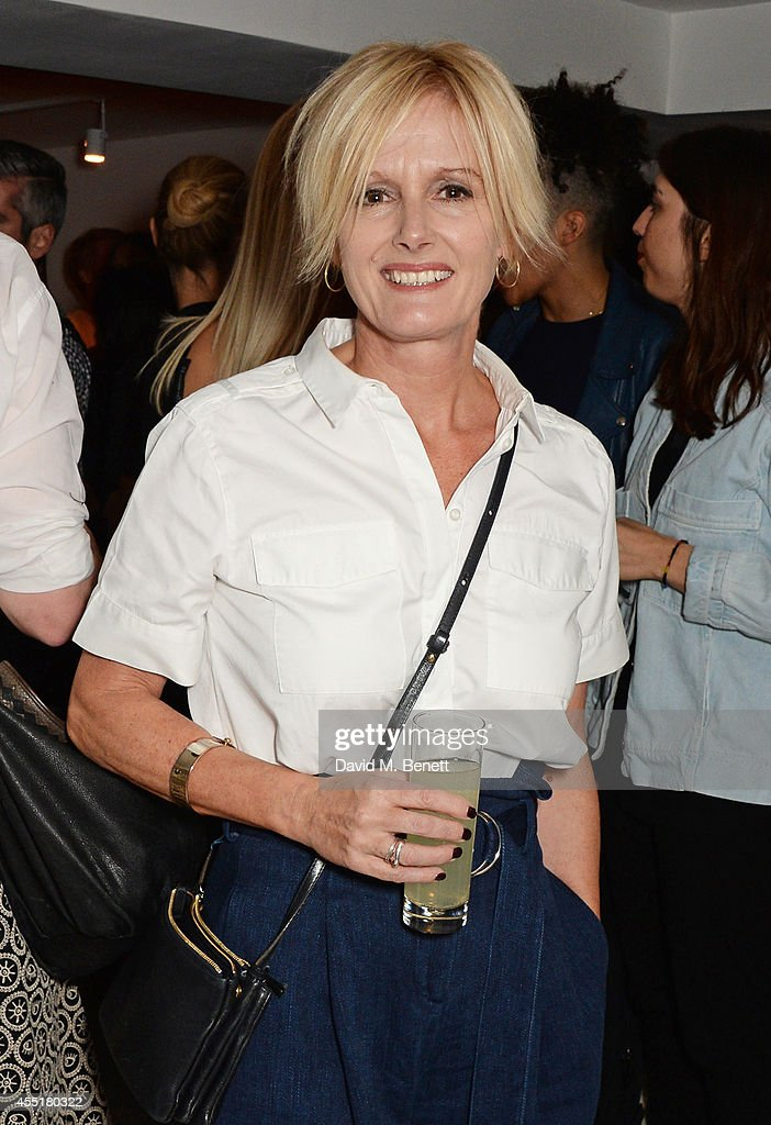 Whistles CEO Jane Shepherdson attends the Whistles x GQ Style House Party on September 10 2014 in London England
