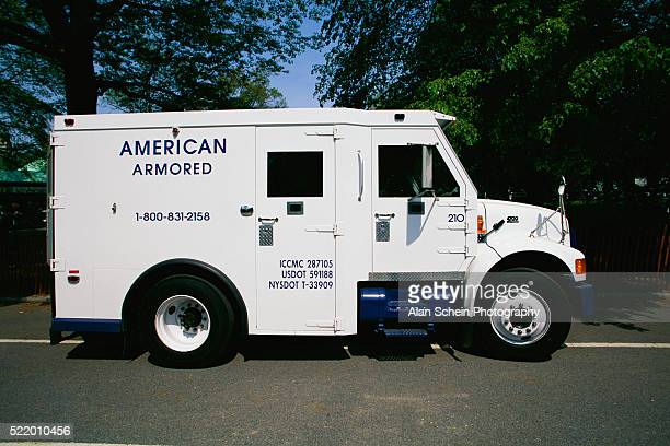 White American Armored Vehicle
