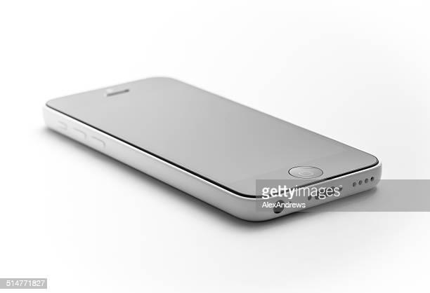 ホワイトとブラックの iPhone 5 C