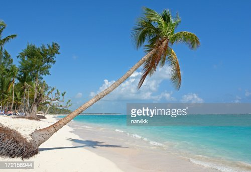 White Beach in Dominican Republic