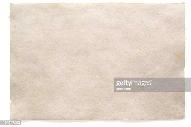 White blank sheet watercolour paper