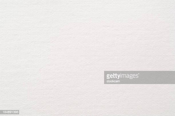 White blank watercolour paper