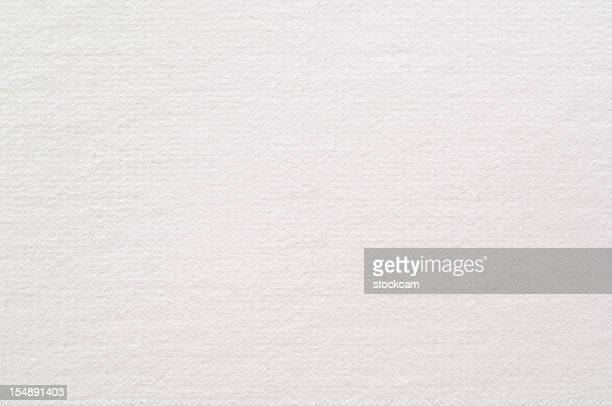 White blank watercolour paper