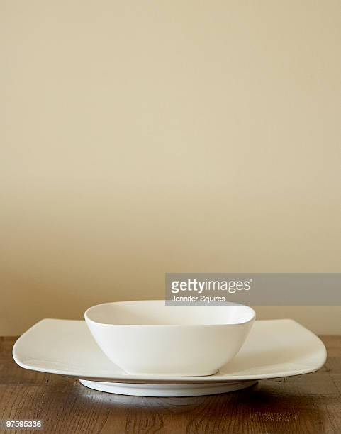White Bowl and Plate