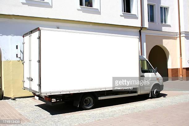 Camion blanc