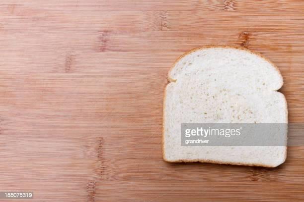 Tranche de pain blanc