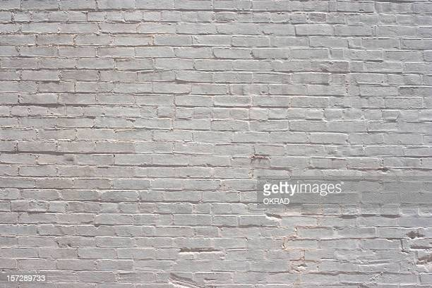 White Brick Background Wallpaper Pattern